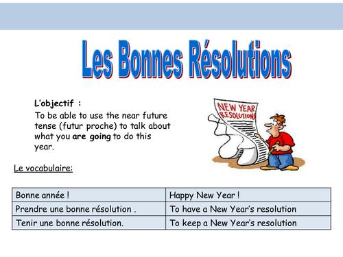 Les Resolution du Nouvel An
