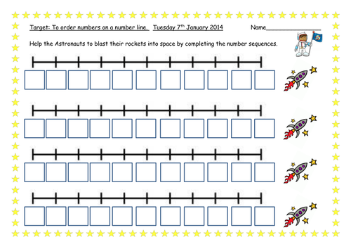 Fill in missing numbers on number lines by PandaPop25 | Teaching ...