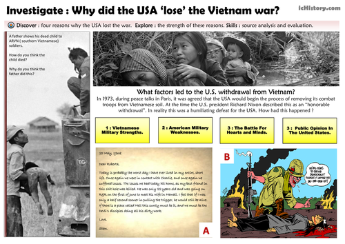 why did the us lose the war in vietnam essay Get an answer for 'why did america lose the vietnam war' and find homework help for other history questions at enotes this is why the us lost the war list cite.