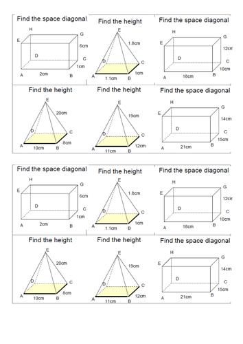 Pythagoras Theorem For High Ability By Elfinhan1