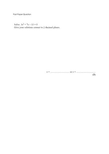 Algebraic Fractions Complete By Chriswallis2 Teaching Resources Tes