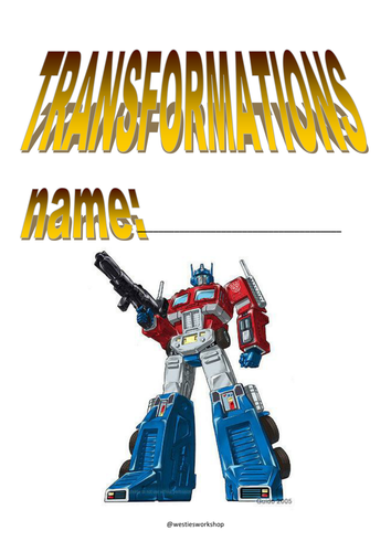 Transformations booklet
