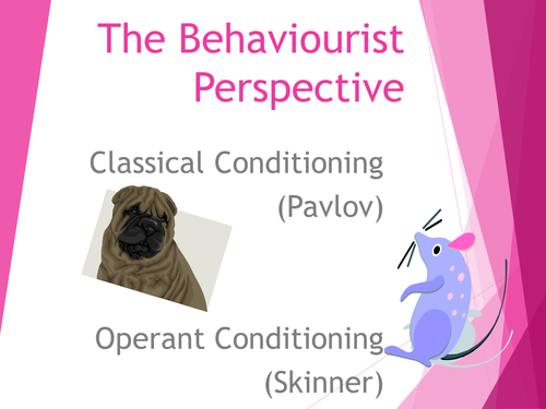 UNIT 8 Psychological Perspectives