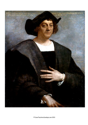 Christopher Columbus and Neil Armstrong KS1 Lesson Plan, Text and Worksheets