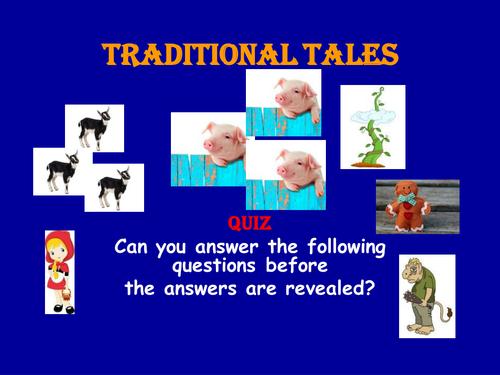 PPT Quiz Traditional Tales KS1