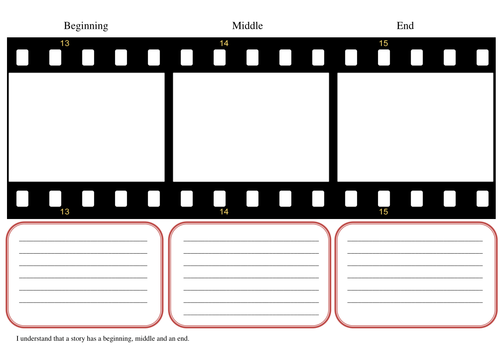 Story Board With Beginning Middle And End By Maximus26