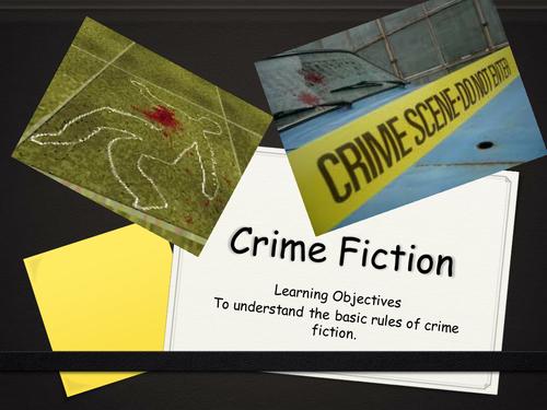 Crime fiction introduction