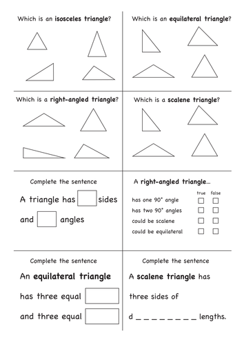 Angles in a triangle by nkadams - Teaching Resources - TES