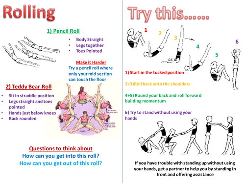 Rolling Teaching Card
