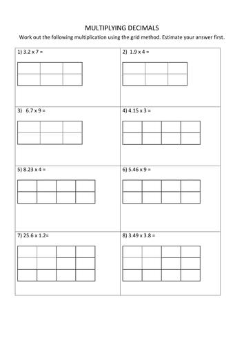multiplying decimals by pnk teaching resources tes. Black Bedroom Furniture Sets. Home Design Ideas