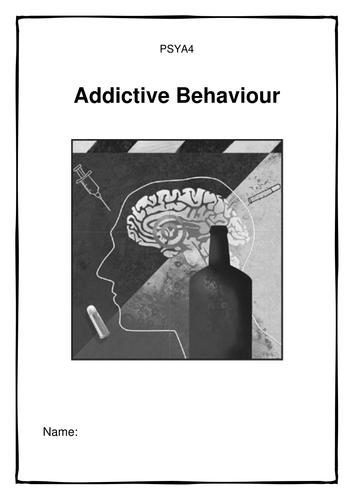 AQA Addictive behaviour workbook