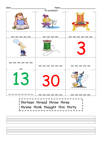 Phonics Phase 3 Practice Worksheets by mflx4eb2 - Teaching Resources ...