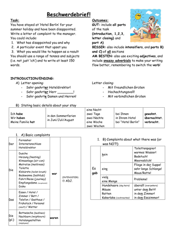 Ks4 german holiday complaint letter by hasslethehog teaching ks4 german holiday complaint letter by hasslethehog teaching resources tes spiritdancerdesigns Choice Image