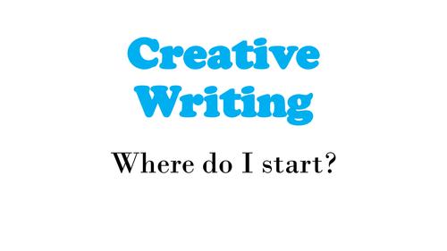 Creative Writing - Intro