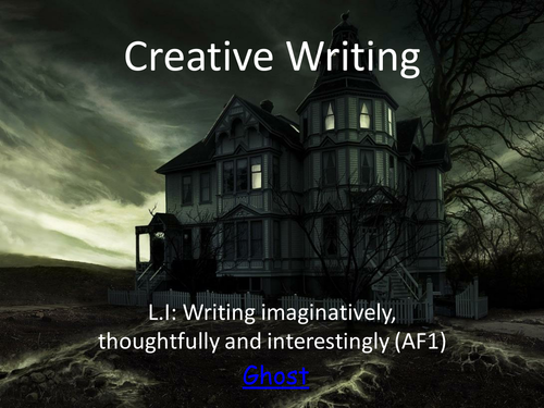 Creative writing about a haunted house