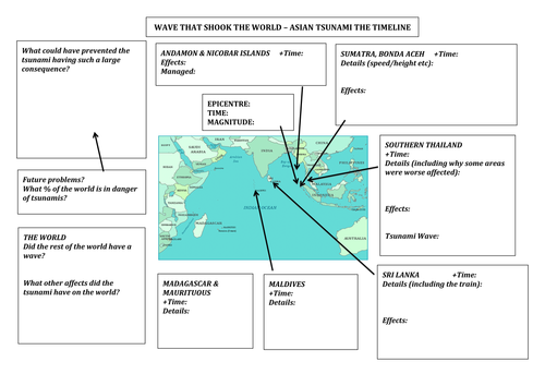 Tsunami formation and effect lesson by hayley2504 Teaching – Citizenship in the World Worksheet Answers