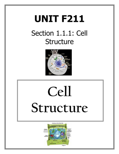 OCR AS F211 booklets: Cells and Cell Membranes
