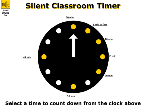 Collection of Timers for use in the Classroom
