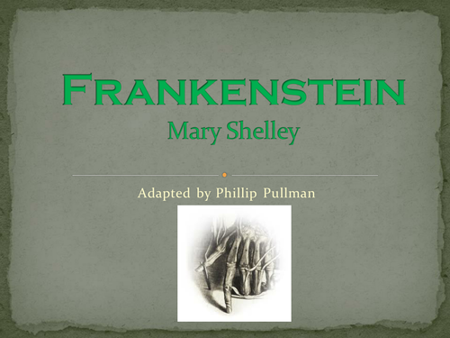 Frankenstein adapted by philip pullman as a play by dmbunting frankenstein adaptation by pullman fandeluxe Choice Image