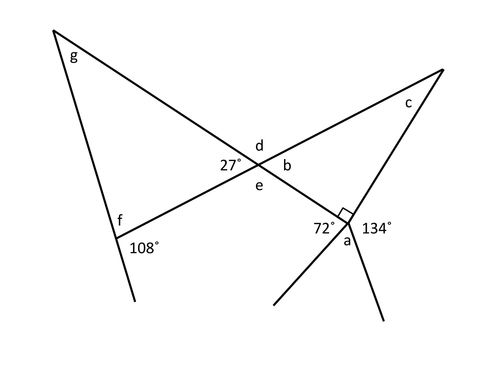 Multistep Angle Problems by HolyheadSchool - Teaching Resources - TES