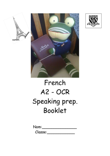 Jean-Pierre's A2 oral OCR revision booklet