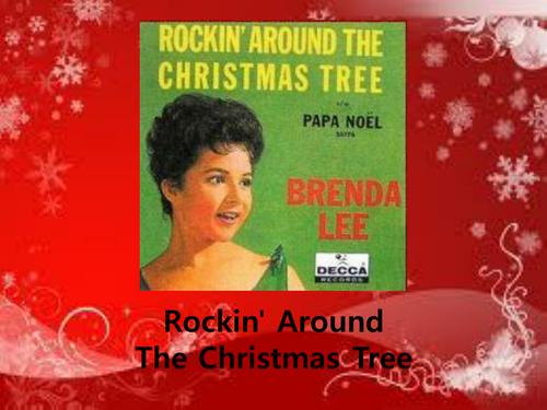 Brenda Lee Rockin Around The Christmas Tree Lyrics.Brenda Lee Rockin Around The Christmas Tree