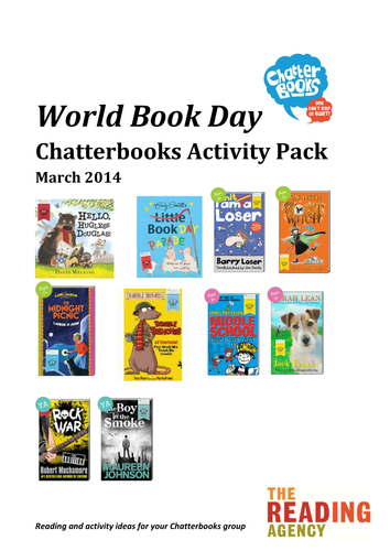 World Book Day 2014 Resources