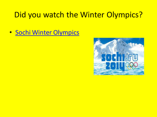 Should athletes have boycotted the Sochi Olympics?