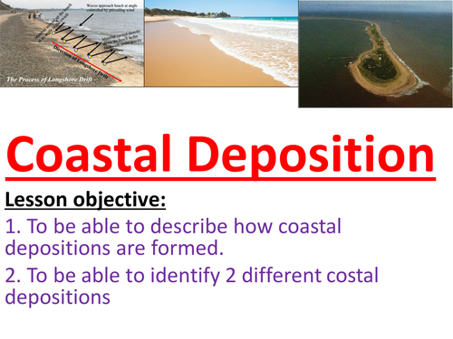 Coastal Deposition - Bars and Spits