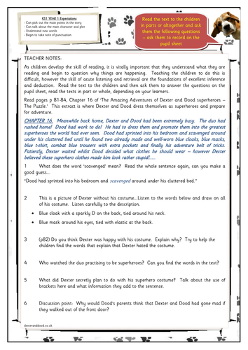 Year 1 Story Comprehension Inference Deduction By Hilly100m