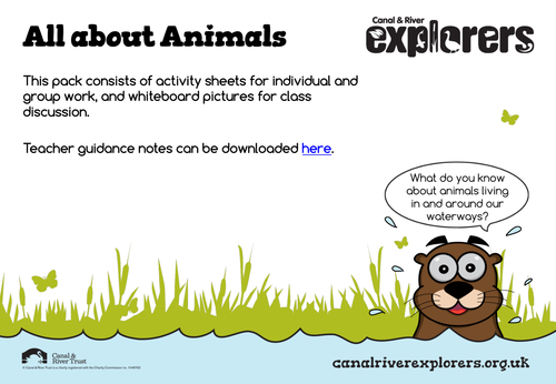 All About Canal and River Animals