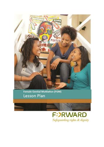 FGM Lesson Plan