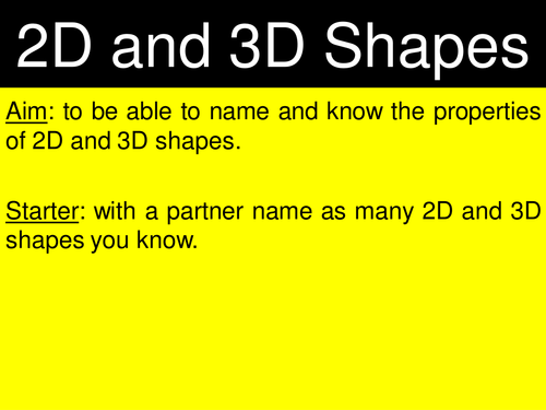 2D and 3D Shape Worksheets by ehazelden Teaching Resources TES – 2d and 3d Shapes Worksheet