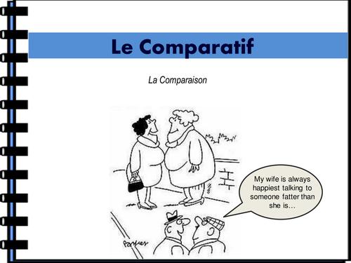 Le Comparatif et Le Superlatif