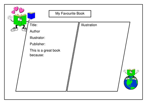 My favourite book - review template