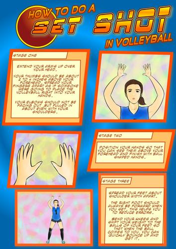 Volleyball - Set Shot Resource