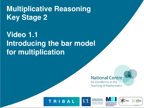 Introducing the bar model for multiplication by ncetm - Teaching ...
