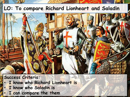 compare richard and saladin