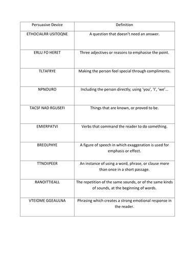 Worksheets Persuasive Techniques Worksheets collection of persuasive techniques worksheet bloggakuten worksheets bloggakuten