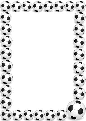 Football 2014 Themed Lined Papers And Pageborders By