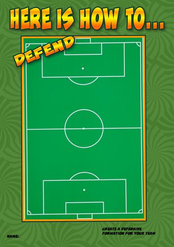 Football Formations Worksheet