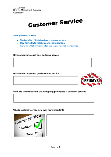 Customer Service, Suppliers and Technology by leojames1