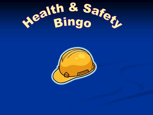 HEALTH & SAFETY BINGO - Post 16