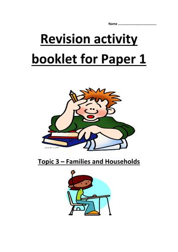 GCSE AQA Unit 2 Family revision guide