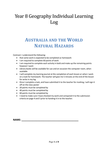 Landscapes and Landforms - Australian Curriculum by