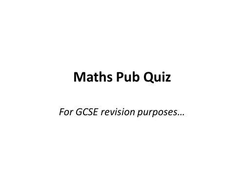 Tes Maths GCSE revision resources – Dancing Raisins Worksheet