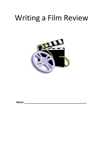Film Review Template | Writing A Film Review Gcse Booklet By Jamestickle86 Teaching