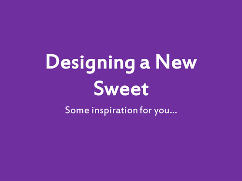 Design a Sweet, Charlie and the Chocolate Factory