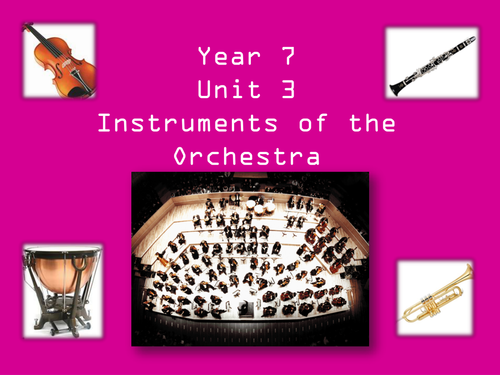 Instruments of the Orchestra Unit