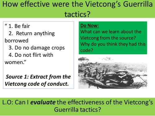 Vietnam War SOW